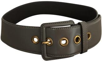 Miu Miu Grey Leather Belts