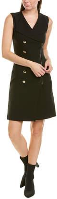 Karen Millen Wool-Blend Sheath Dress
