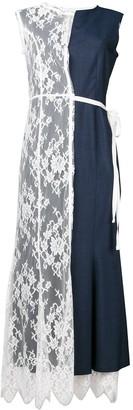 Junya Watanabe Lace Panel Dress