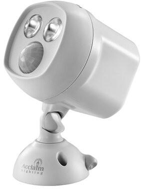 Acclaim Lighting Battery Powered LED Spot Light Acclaim Lighting Finish: Gray