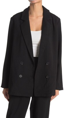 Lush Double Breasted Blazer Jacket
