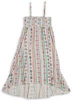 Jessica Simpson Girls 7-16 2-Way Patterned Dress