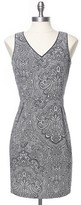 Tommy Hilfiger Final Sale-Paisley Structured Dress