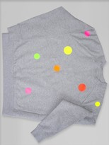 Dandy Star Wholesale - Neo Dot Sweatshirt - S / GREY MARL