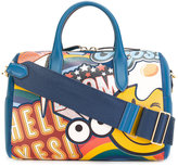 Anya Hindmarch giant stickers tote - women - Leather - One Size