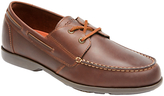 Rockport Summer Sea 2-eye Leather Boat Shoes