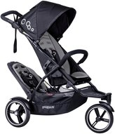 Phil & Teds Dot Stroller w/ Doubles Kit - Graphite