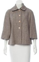 Rebecca Taylor Wool-Blend Tweed Jacket