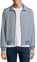 Burberry Bradford Lightweight Blouson Jacket, Light Gray