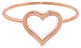 Jennifer Meyer Open Heart Ring - Rose Gold