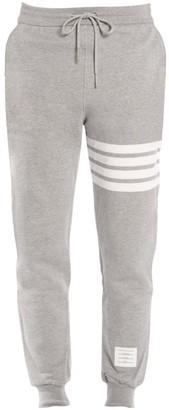Thom Browne Stripe Cotton Joggers