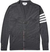 Thom Browne Striped Wool Cardigan