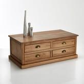 La Redoute La Lunja Solid Pine, 4-Drawer Coffee Table