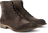 Belstaff - Alperton Burnished-suede Boots