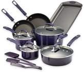 Rachael Ray Rachael RayTM Porcelain Nonstick 14-Piece Cookware Set in Gradient Purple
