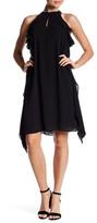 Nine West Georgette Ruffle Flare Dress