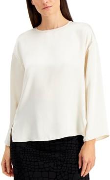 Alfani Side-Slit Top, Created for Macy's