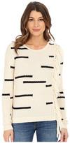 Lucky Brand Fringe Pullover