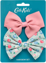 Cath Kidston Lucky Rose Kids 2 Pack Hair Bows