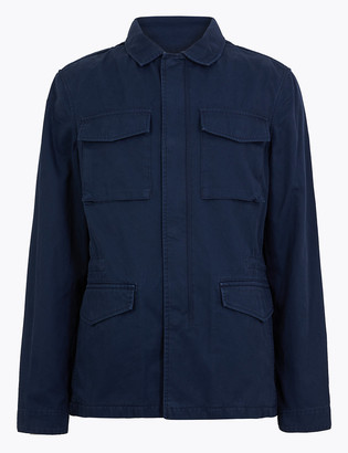 Marks and Spencer Cotton Utility Jacket