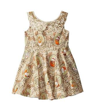 fiveloaves twofish Mr. Fox Fashionista Dress (Toddler/Little Kids/Big Kids)