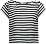 Milly Striped cotton-blend T-shirt