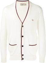 MAISON KITSUNÉ tricolour V-neck cardigan