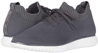 Calvin Klein Thornton (Grey/Light Grey Knit) Men's Shoes