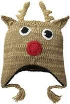 D&Y Women's Reindeer Ugly Christmas Hat