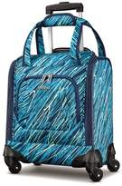 """American Tourister 14"""" Avatar Underseater Carry On Spinner Suitcase - Scribbler Teal"""