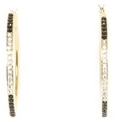 Vince Camuto Jeweled Hoop Earrings
