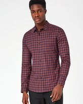 Topman Check Muscle Fit Shirt