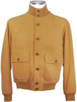 Schiatti & Co. Men's Biscuit Italian Suede Two-Pocket Jacket