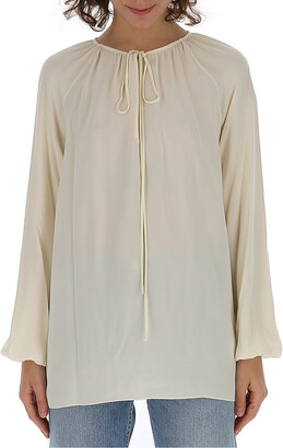 Theory Gathered Blouse
