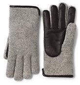 Classic Men's Casual Knit Gloves-Dark Camel Heather