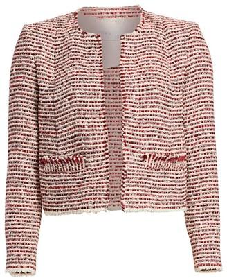 IRO Riona Cropped Tweed Jacket