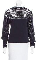 Helmut Lang Oversized Crochet Sweater