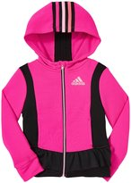 adidas Twirl Trainer Jacket (Toddler/Kid) - Bright Pink-3T