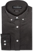 Nick Graham Men's Slim-Fit Pin Dot Dress Shirt
