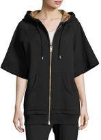Burberry Short Sleeve Hooded Jacket