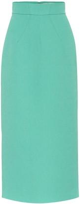 Emilia Wickstead Lorinda cloque pencil skirt