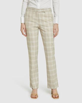 Oxford Danica Check Suit Trousers