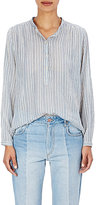 Etoile Isabel Marant Women's Joden Cotton Blouse-BLUE