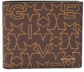Givenchy Star-print Bi-fold Leather Wallet