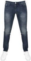 Armani Jeans J06 Slim Fit Jeans Blue