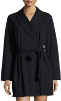 Kate Spade Good Morning Gorgeous Short Robe, Black