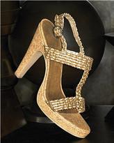 Spiegel Braided platform sandal