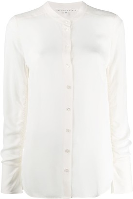 Veronica Beard Round Neck Blouse