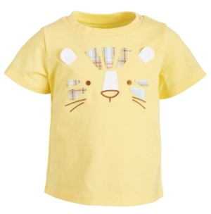 First Impressions Baby Boys Tiger Face Cotton T-Shirt, Created for Macy's