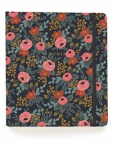 Rifle Paper Co. '2017 Rosa' Planner - Blue